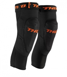 Kolenní chrániče THOR COMP XP BLACK KNEE GUARD vel. L/XL