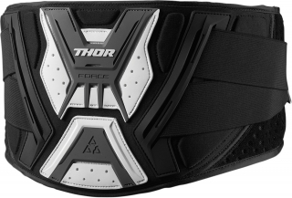 Ledvinový pás THOR FORCE BELT BLACK/GREY  vel. S/M