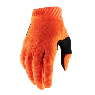 Motokrosové rukavice 100% RIDEFIT FLO ORANGE/BLACK