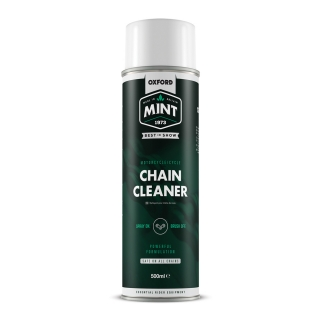 Čistič na řetěz ve spreji OXFORD MINT CHAIN CLEANER 500 ml