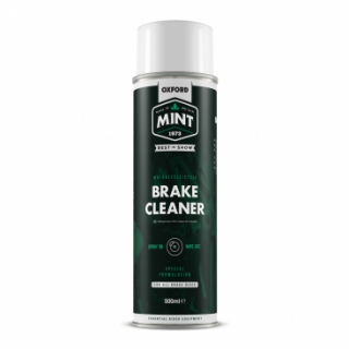 Čistič na brzdy ve spreji OXFORD MINT BRAKE CLEANER 500 ml