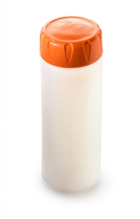 Odměrka na kapaliny KTM OIL BOTTLE 250ML ORANGE